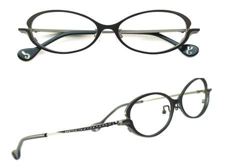 サキ 眼鏡