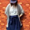 大原櫻子さんのTシャツ情報 ドラマやCMで着たブランド
